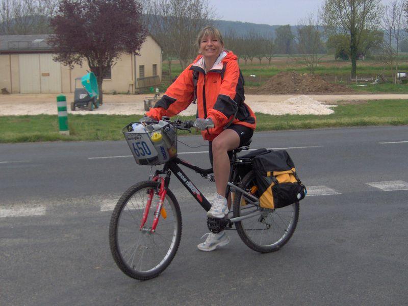 Accompagnatrice sur les 100 km de Belvès