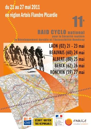 Raid cyclo 2011 - Village sécurité routière
