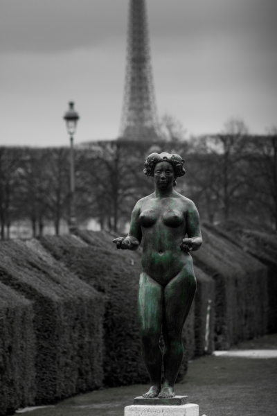 Paris 2017 - jardin tuileries - Maillol