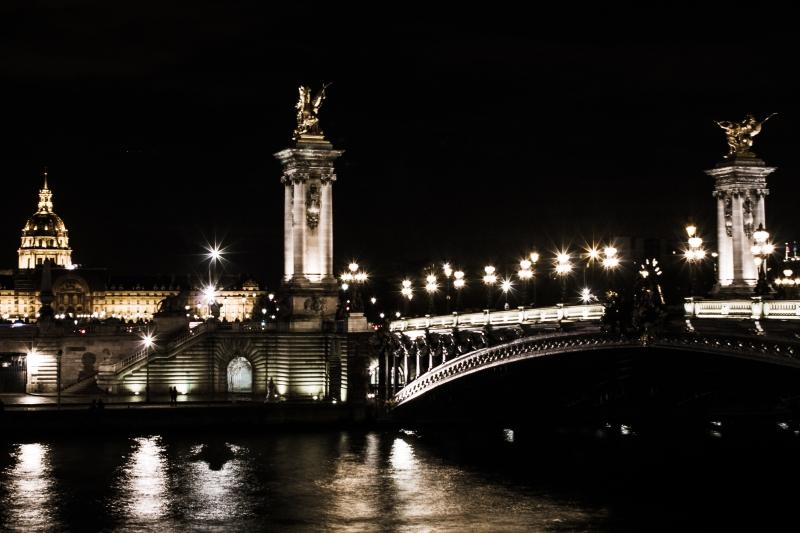 Paris 2017 - Pont alexandre III - nuit