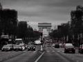 Paris 2017 - Champs Élysées - noir&blanc